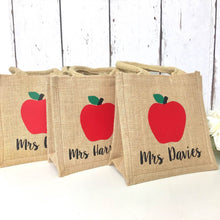 Load image into Gallery viewer, Teacher Gift | Personalised Lunch Bag | Bag for Teacher | Teacher Appreciation Thank you Gift  Storage for Teacher Teaching Assistant Gift