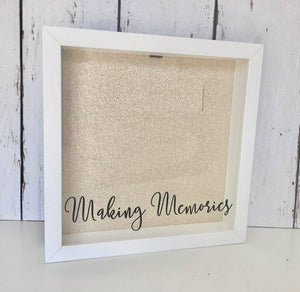 Making Memories • Ticket Stub Shadow Box