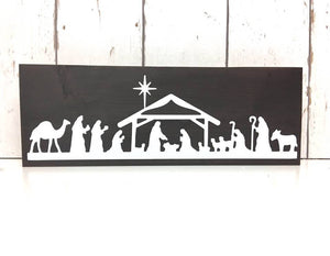 Nativity Scene • Nativity Scene Sign • Nativity Pallet Sign • Nativity Wooden Sign • Pallet Sign • Christmas Pallet Sign • Rustic Christmas