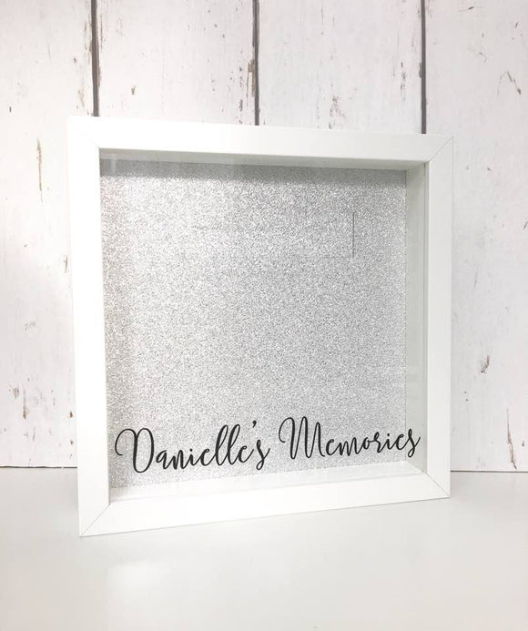 Making Memories • Personalised Memory Box Ticket Stub Shadow Box