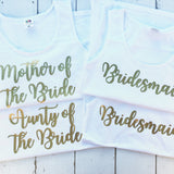 Hen Party Tops Bridesmaid Bridal Party Vest
