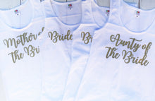 Load image into Gallery viewer, Hen Party Tops Bridesmaid Bridal Party Vest