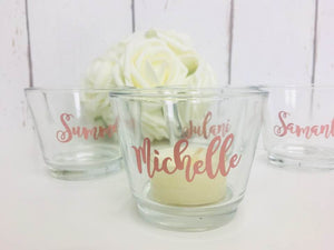 Candle Wedding Favours • Bridesmaid Gift • Bridesmaid Candle • Wedding Favours • Personalised Bridesmaid Gifts • Personalised Wedding Candle