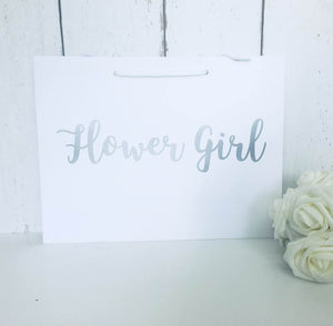Flower Girl Gift Bag • Flower Girl Bag • Flower Girl Gift • Wedding Gift Bags • Thank You Flower Girl • Flower Girl Gifts • Bridesmaid Gift