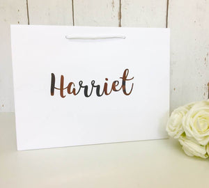 NQP CLEARANCE FLAWED Personalised Gift Bag