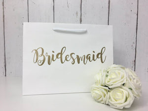 Bridesmaid Gift • Personalised Wedding Gift Bag