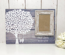Load image into Gallery viewer, Alternative Guest Book • Wedding Guestbook • Wedding Guest Book • Alternative Wedding Guest Book •Rustic Wedding Guest Book •Tree Guest Book
