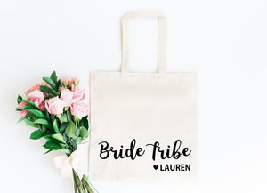 Bride Tribe Bag • Bridesmaid Tote Bag • Bridesmaid Gift Bag • Bride Tribe Gift Bag • Personalised Hen Party Gift Bag • Bridesmaid Gift • Hen Do