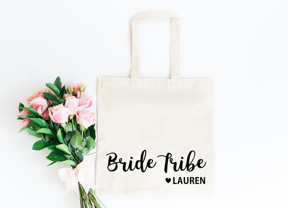 Bride Tribe Gift Bag, Personalized Hen Party Gift Bag