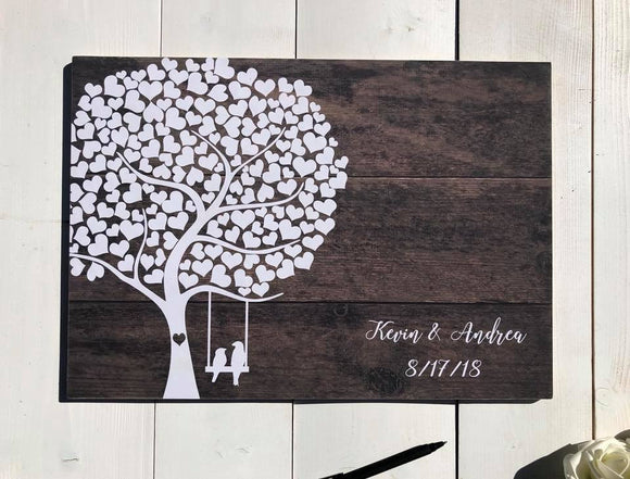 Wedding Guest Book Alternative • Wedding Guestbook Alternative • Tree Guest Book • Alternative Wedding Guest Book • Alternative Guest Book