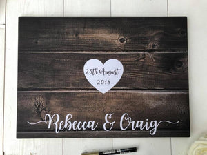 Guestbook Alternative • Wedding Guest Book • Alternative Wedding Guest Book • Guest Book Wedding • Rustic Guest Book • Wedding Guestbook