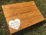 Wedding Guest Book Alternative • Guest Book Alternative • Wooden Guestbook • Wooden Guest Board •Wedding Guest Board • Rustic Wedding Decor