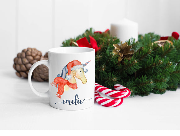 Personalized Unicorn Mug Ideal Christmas Unicorn Gift
