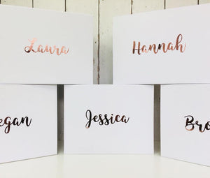 Personalised Bridal Party Gift Box • Bride Flower Girl Maid of Honour
