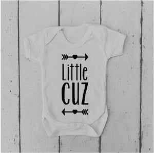 Little Cuz • Cousin Gift • Cousin Baby Vest • Cousin Bodysuit • Cousin Baby Grow • Funny Baby Clothing • Unisex Baby Gift •Baby Shower Gift