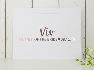 Personalised Bridesmaid Bag • Bridesmaid Gift Bag • Personalised Gift Bag • Bridesmaid Gift • Wedding Gift Bag • Thank You Bridesmaid • Gift