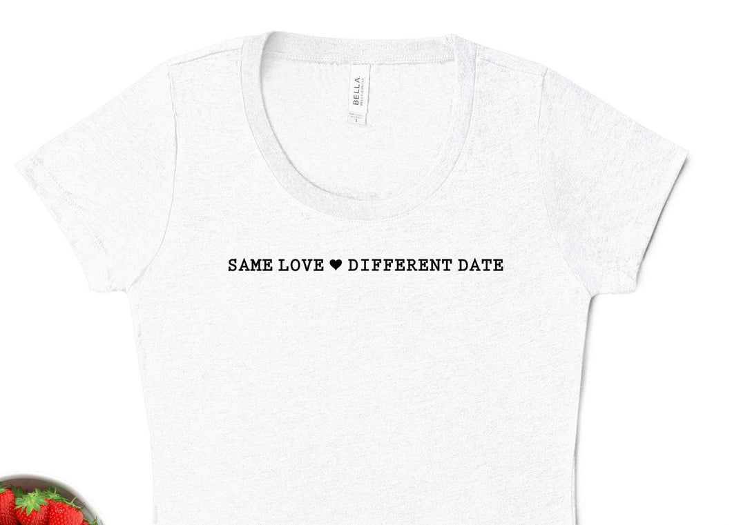 Same Love Different Date Bride Quarantine Shirt, Wedding Postponed Shirt, Wedding Postponed Gift, Quarantine T-shirt, Social Distancing Shirt, Funny Shirt, Sarcastic