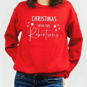 Matching Christmas Jumpers, Matching Family Jumpers,Christmas Sweatshirt,Personalised Christmas Jumper,Matching Sweatshirt,Christmas Sweater