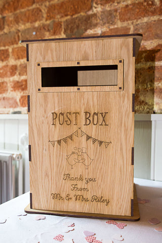 Wedding postbox