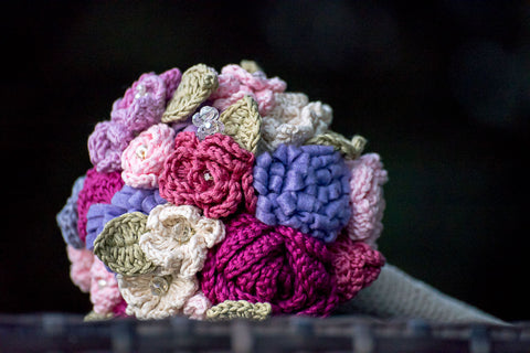 how to make easy crochet flowers