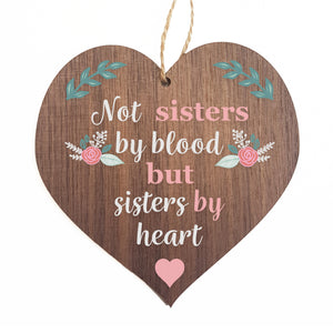 Not sister by blood but sisters by heart