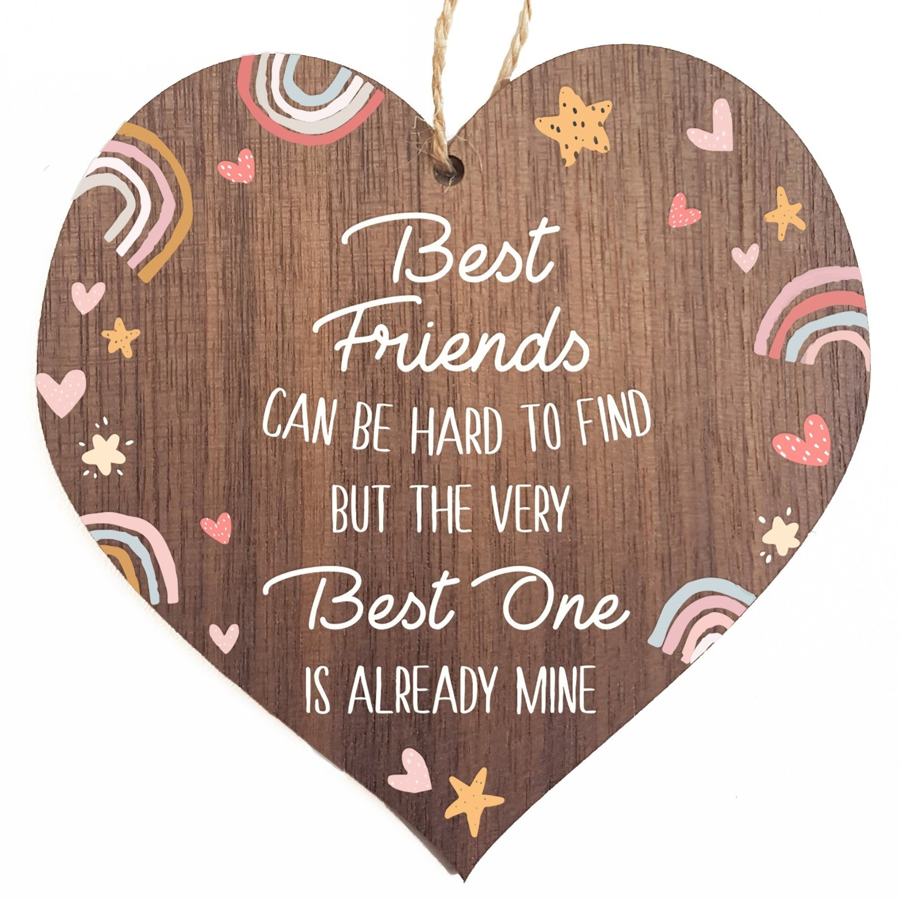 Best friends can be hard to find decorative plaque or sign