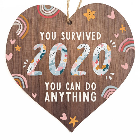 You survived 2020 you can do anything decorative plaque or sign