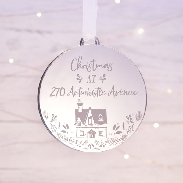 Luxury Christmas at address Xmas bauble
