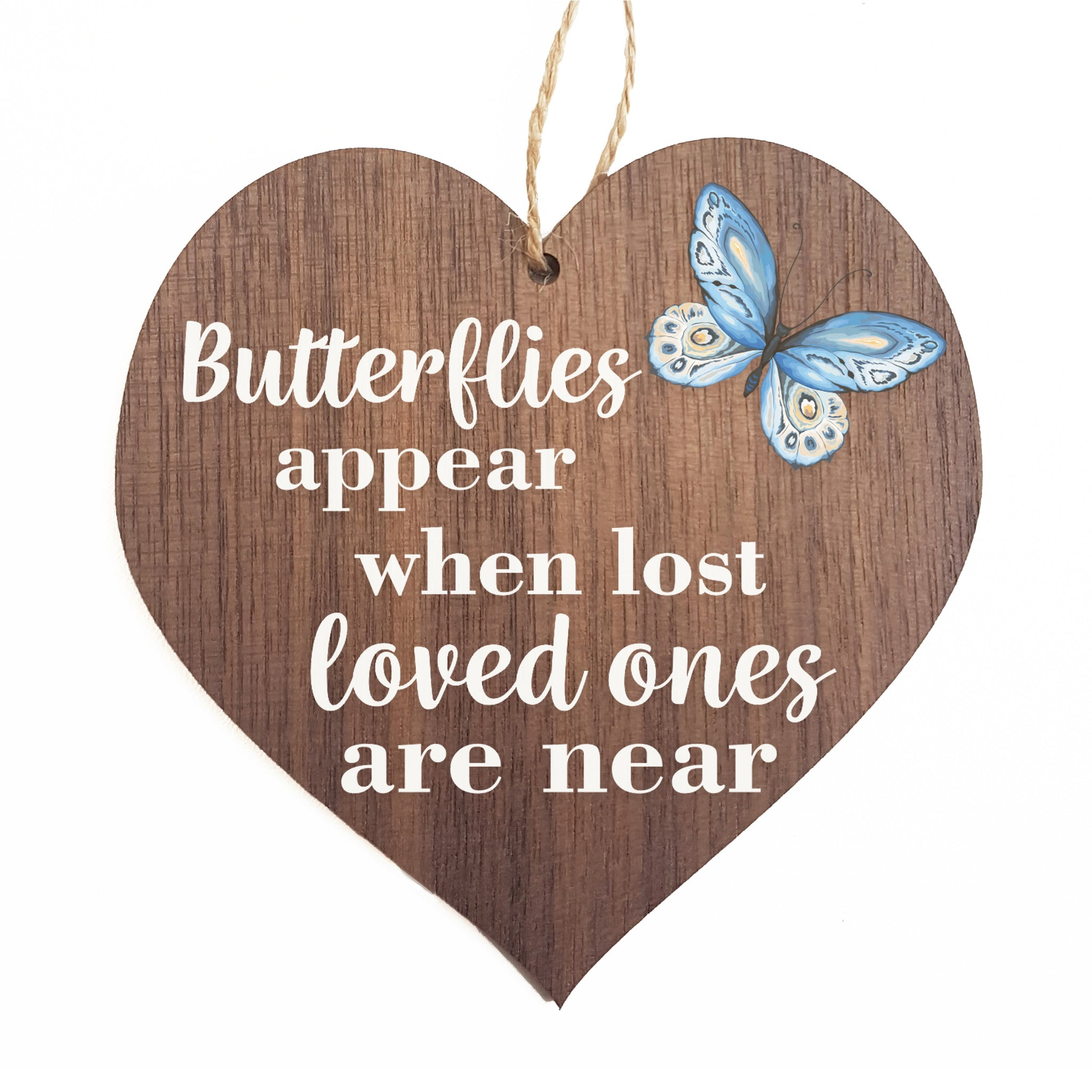butterflies appear when lost love ones are near