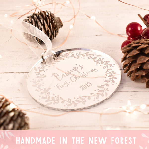 Luxury Bump's First Christmas Bauble