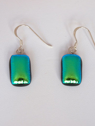 Mid Green Drop Earrings