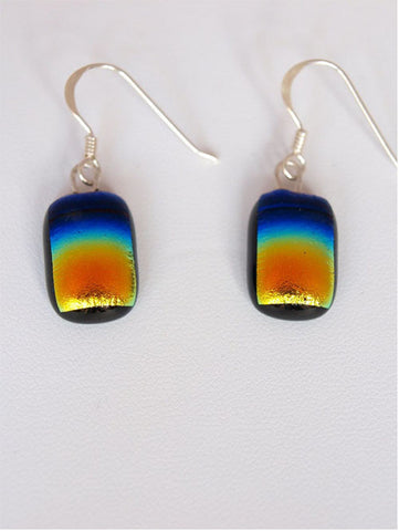 Rainbow Drop Earrings - Specialist Glass