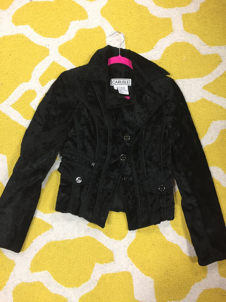 Faux Fur Jacket Size: 0