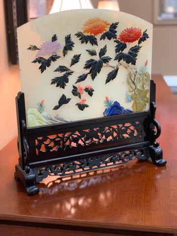 Antique Table Screen