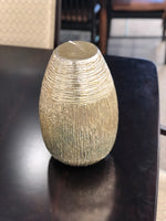 Metallic Glass Vase