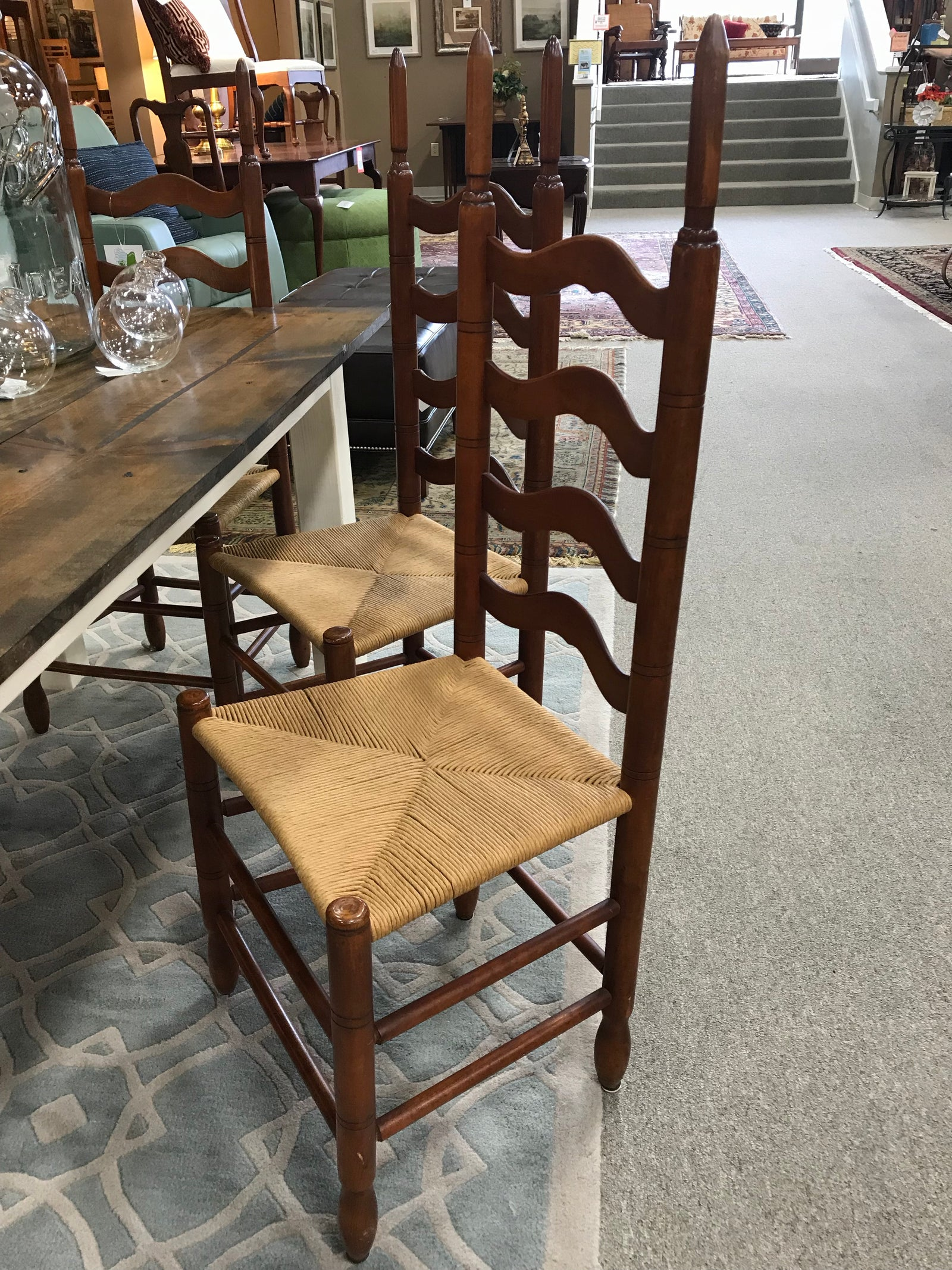Ladder Back Dining Chairs