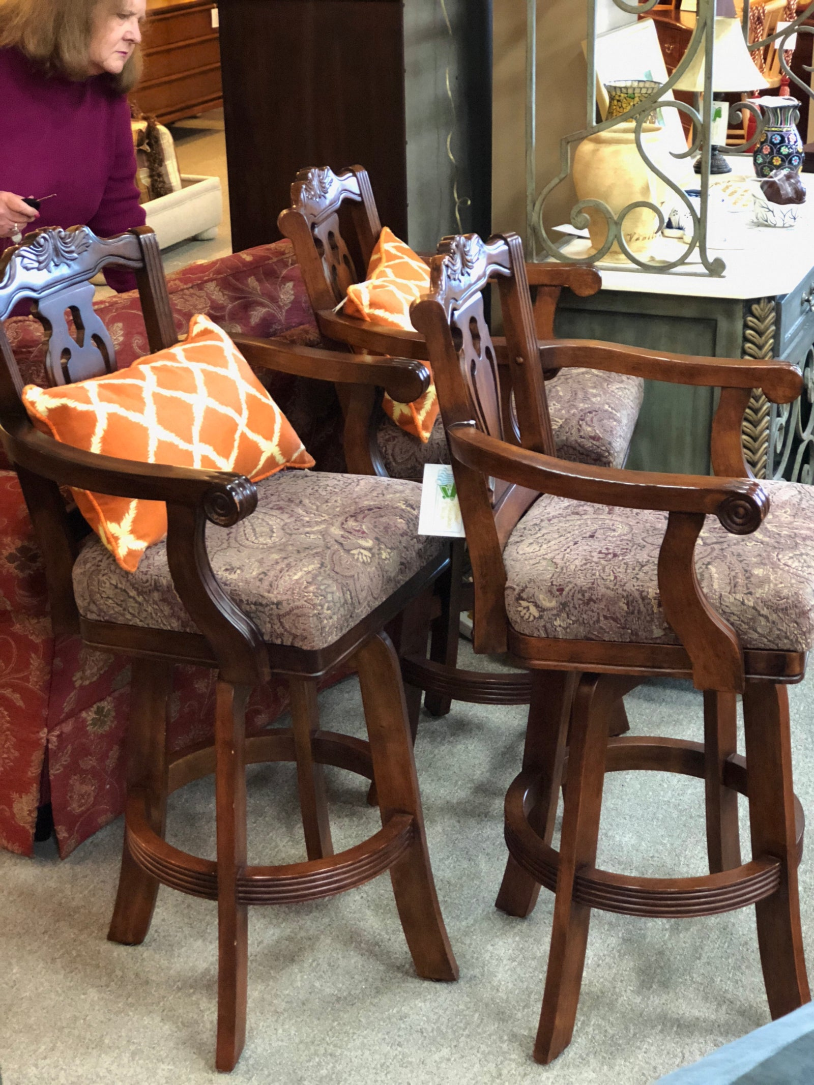 Set of 3 Barstools