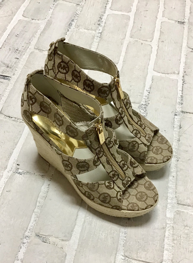 Michael Kors Wedge Sandals (7.5)