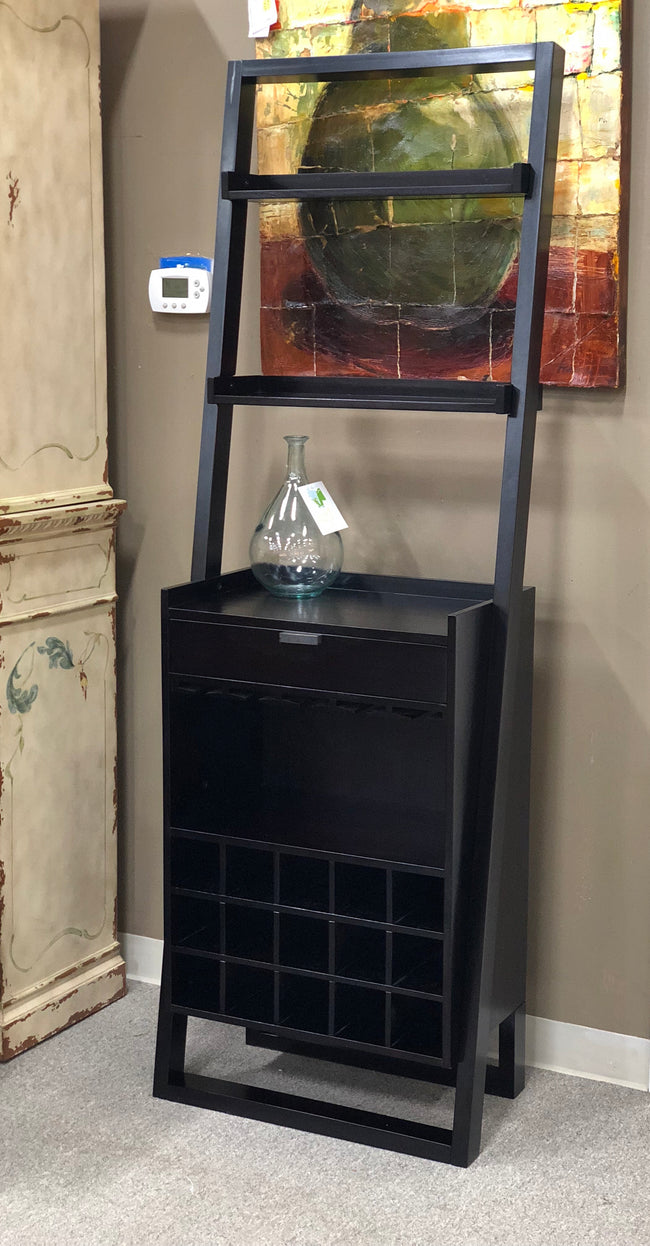 Crate & Barrel Wine Cabinet