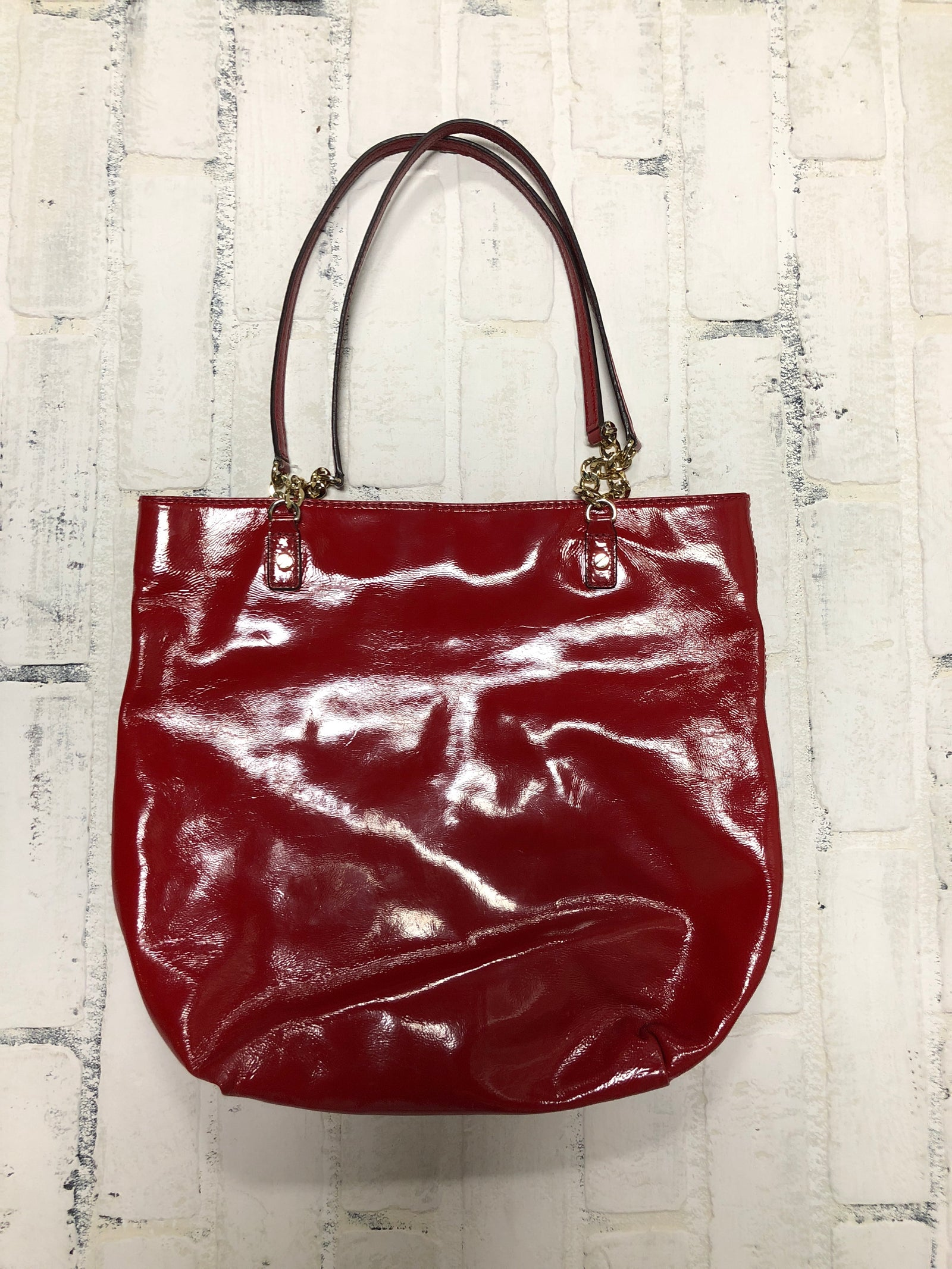 Michael Kors Patent Leather Tote