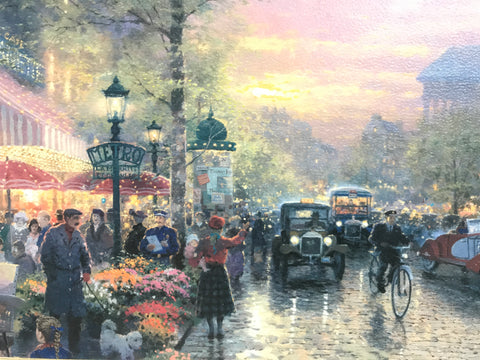 "Thomas Kinkade ""Paris"""