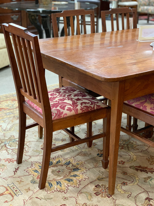 Dining Table & 7 Chairs