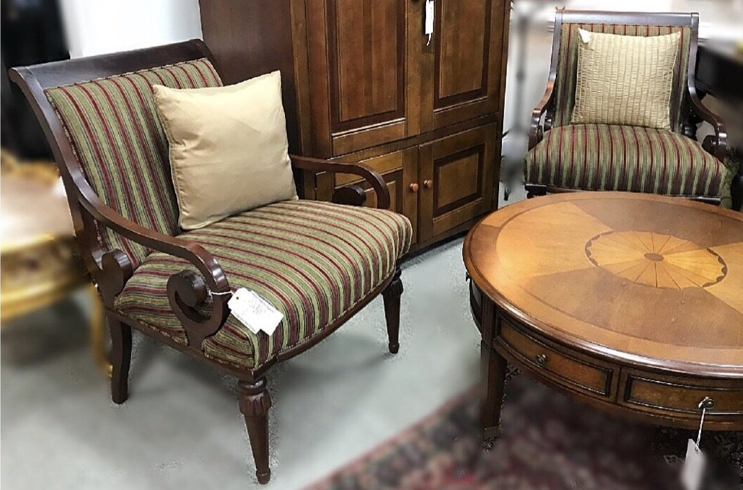 Ethan Allen Chairs Petersons Consigning Design