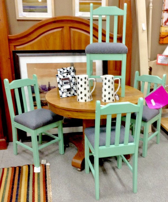 Painted Dining Chairs x4