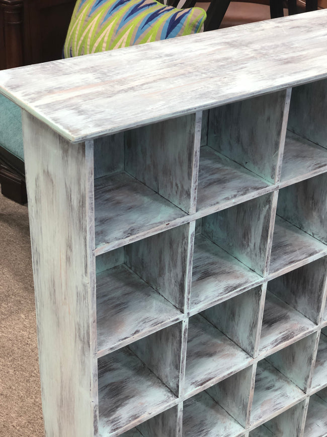 Painted Accent Bookcase