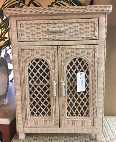 Wicker Cabinet | Side Table