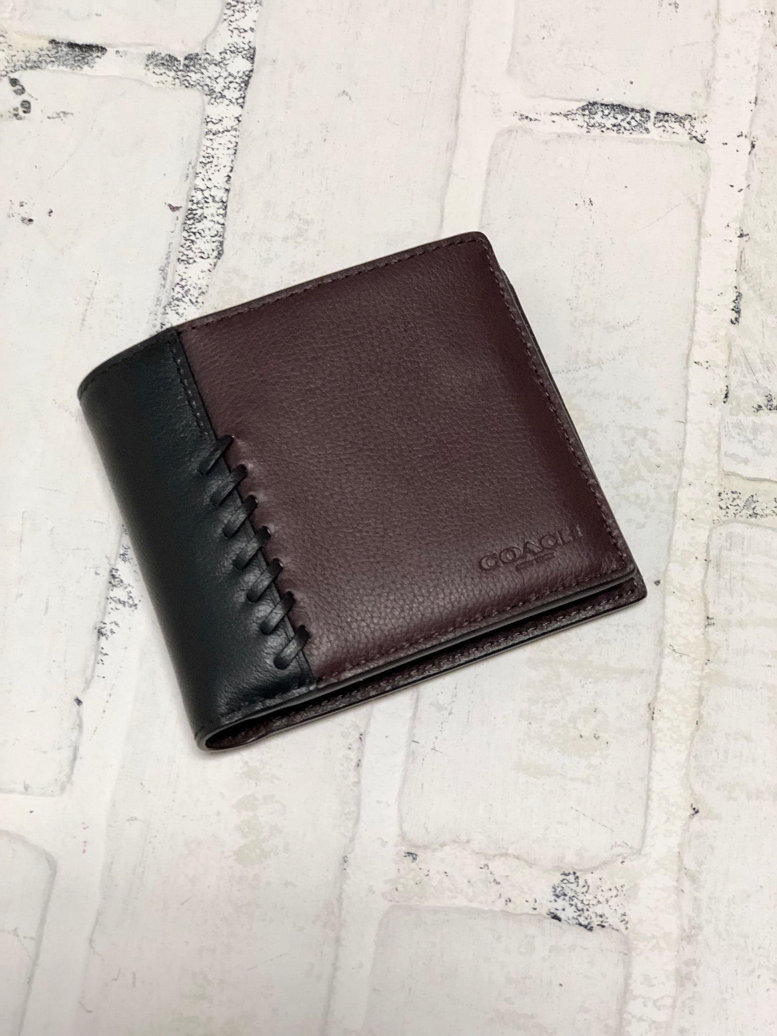 Coach Men S Wallet Petersons Consigning Design