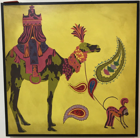 Camel & Monkey Art