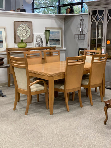 Stanley Dining Table & 6 Chairs