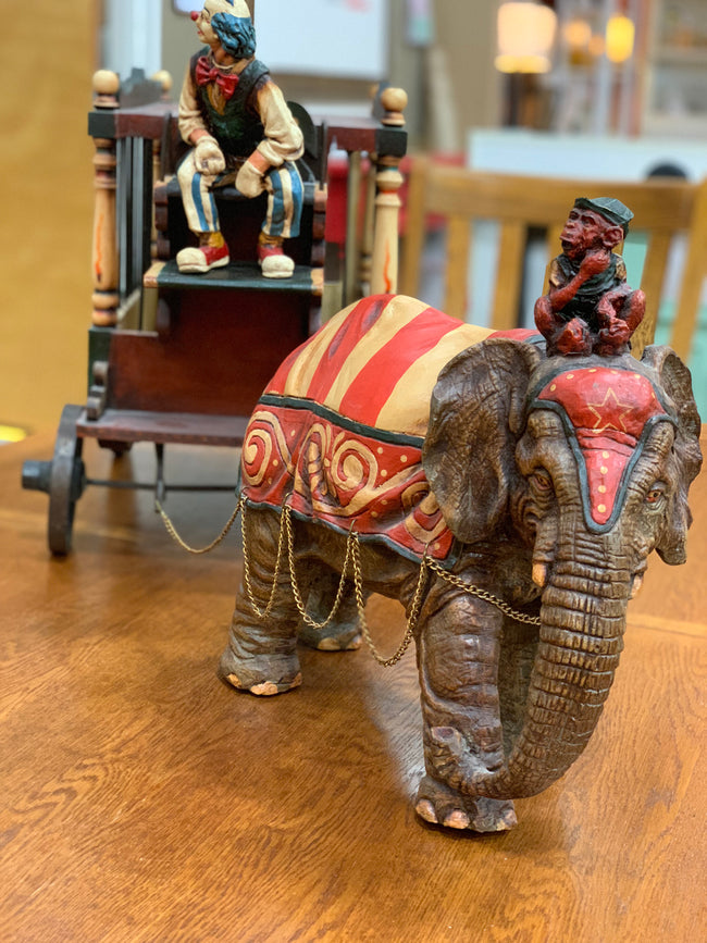Antique Circus Wagon
